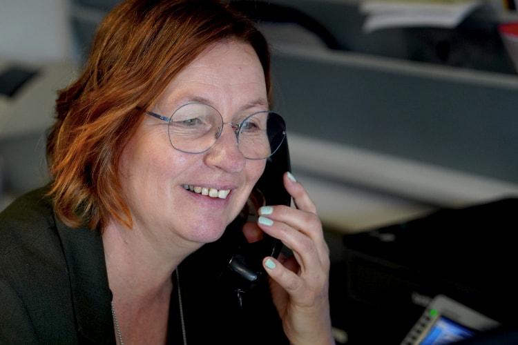 Karin van Autobedrijf Jabe Dongen