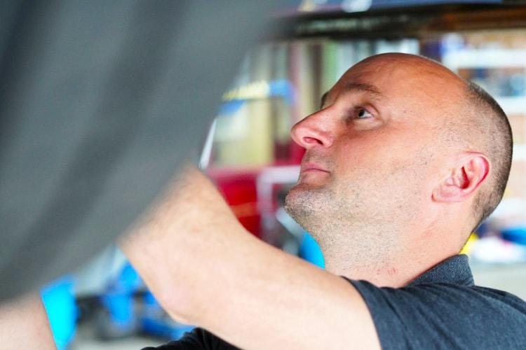 Mark van Autobedrijf Jabe Dongen