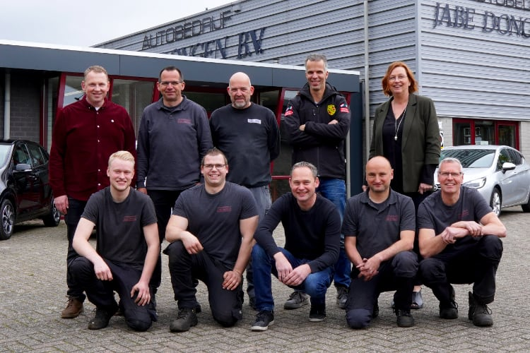 Team autobedrijf Jabe Dongen