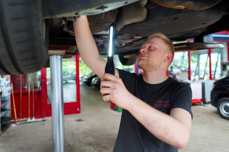 Technische inspectie algemene staat voertuig